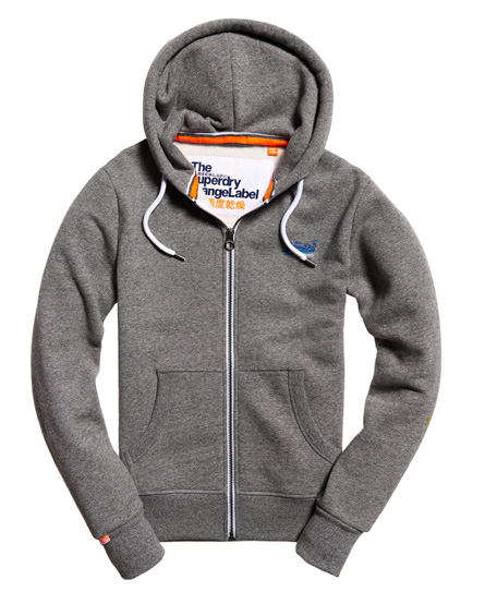 superdry orange label cali kapuzenjacke herren hoodies. Black Bedroom Furniture Sets. Home Design Ideas