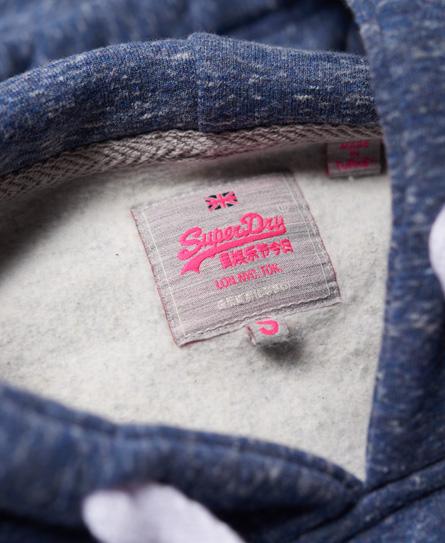 Superdry Vintage Logo Sequin Hoodie