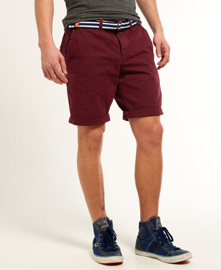 Superdry International Chino Shorts - Men's Shorts