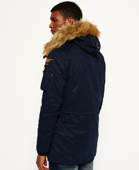 Superdry Microfibre SD-3 Parka Jacket