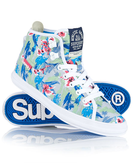 Superdry Super Crampon Boots White