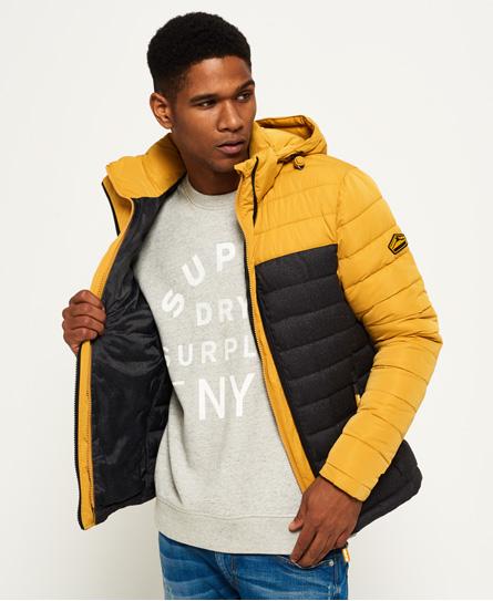 Superdry Superdry Fuji Colour Block jakke med hætte