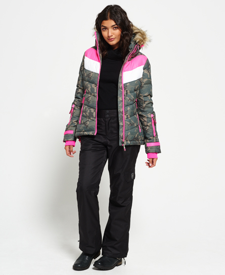 Superdry Retro Chevron Down Puffer Jacket