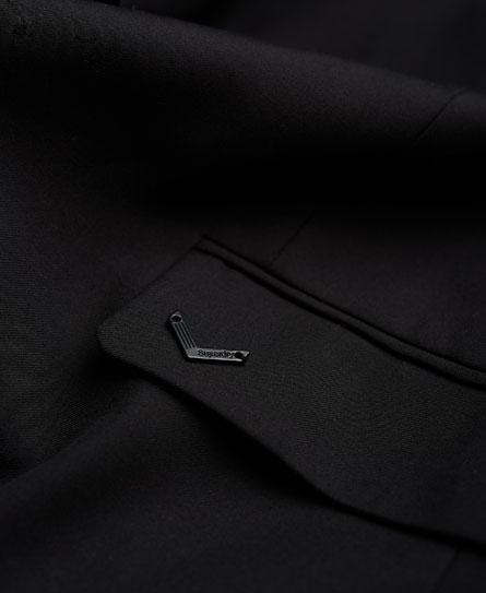 Womens Superlative Jacket In Twilled Black Superdry