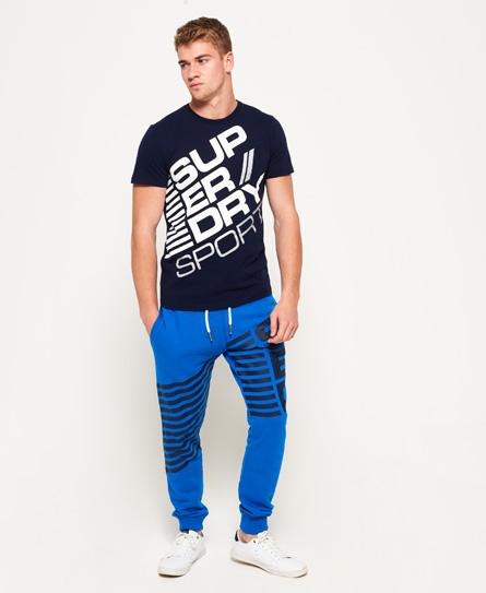 superdry diagonal jogginghose herren jogginghosen. Black Bedroom Furniture Sets. Home Design Ideas