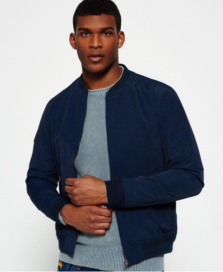bowery navy Superdry Surplus Goods Shadow Bomber Jacket