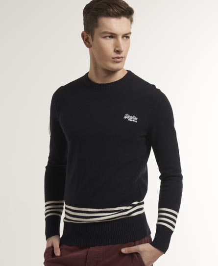 Superdry Captains Crew Navy