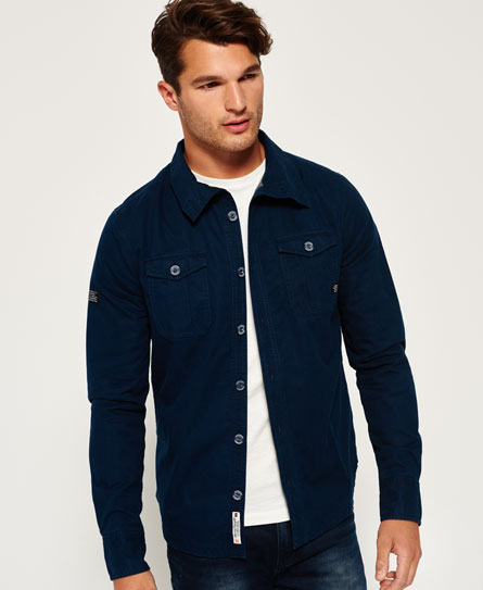 Superdry International Shirt Jacket - Men's Shirts