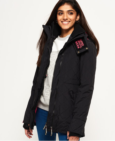 Superdry Technical Quilted SD-Wind Parka Jacket - Women's Jackets ...
