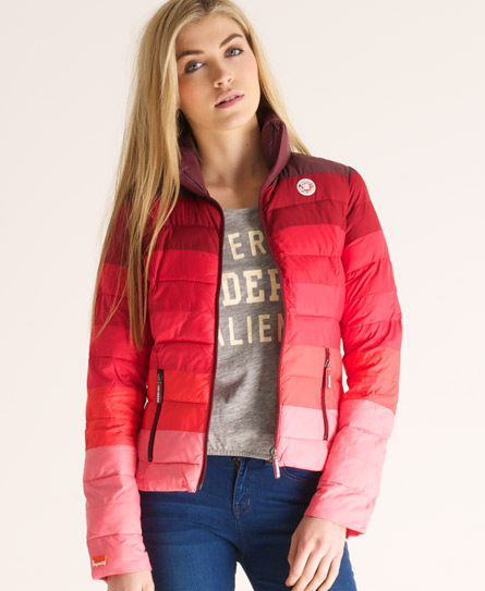 Superdry California Jacket Red