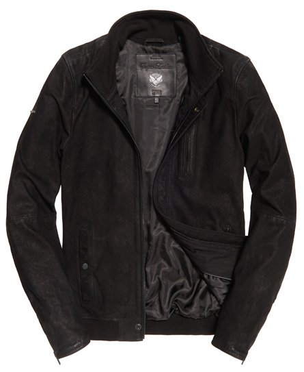 Superdry Nubuck Harrington jas