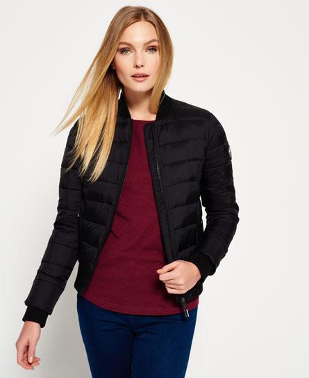 superdry blouson bombardier fuji vestes et manteaux pour femme. Black Bedroom Furniture Sets. Home Design Ideas