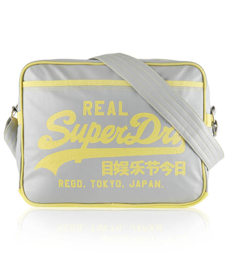 Superdry Classic Alumni Bag Light Grey