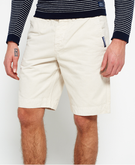stone Superdry International Chino Shorts