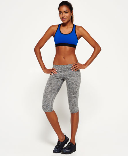 Se Superdry Superdry Core Gym capri-leggings ved SuperDry