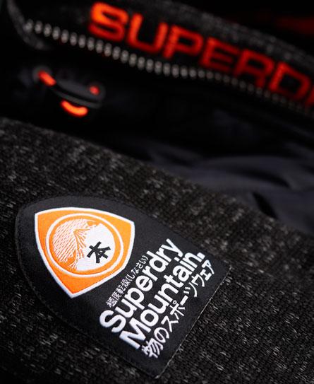 Superdry Storm Hybrid hættetrøje med lynlås