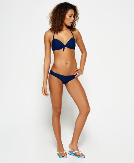 Superdry Top de bikini con copas Santa Monica