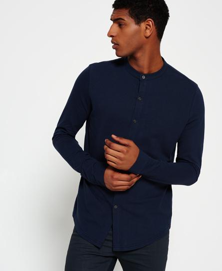 Superdry Casual Pique Grandad Shirt
