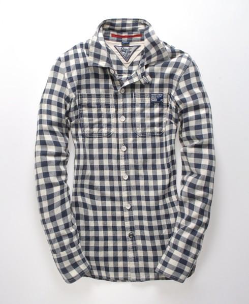 Superdry Riverter Shirt Blue