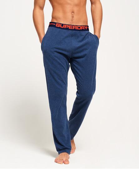 superdry pantalon d 39 int rieur en jersey homme pantalons. Black Bedroom Furniture Sets. Home Design Ideas
