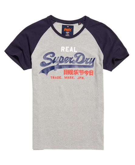 Superdry Vintage Logo Raglan T-shirt