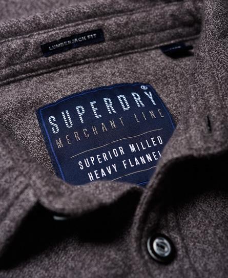 Superdry Langærmet skovmandsskjorte