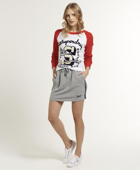 Superdry Athletic Skirt Grey
