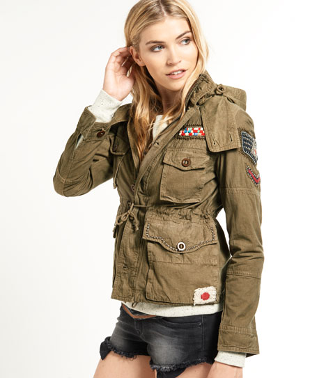 Superdry Dragon Surplus Jacket Green