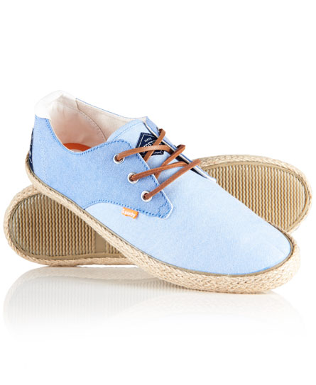 blue chambrey Superdry Skipper Schuhe