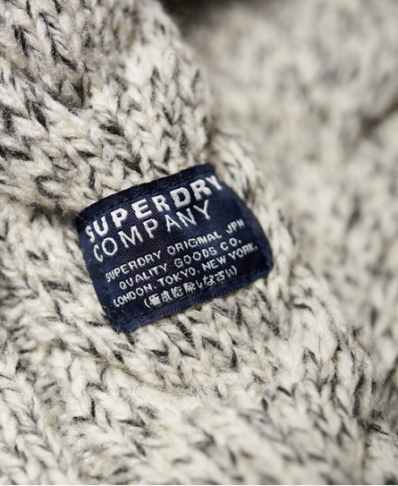 Superdry Pull col tunisien Jacob Heritage