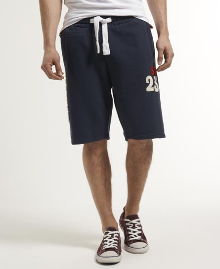 Superdry Classic Offset Shorts Navy