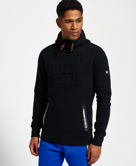 Gym Tech Embossed Hoodie