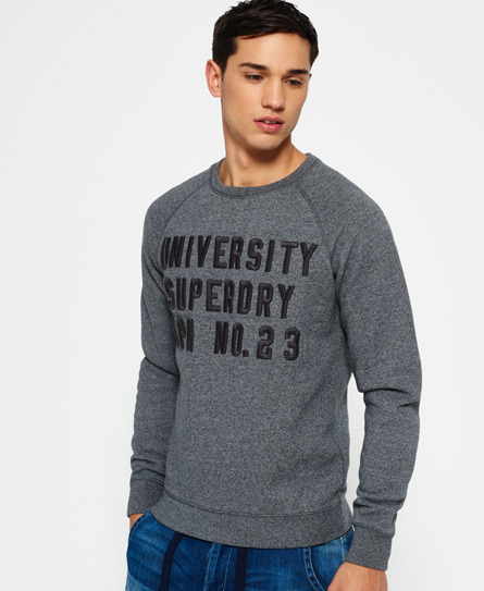 Superdry Core Applique Crew Neck Sweatshirt