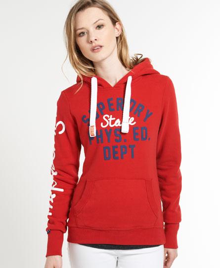 Superdry Department Hoodie Red