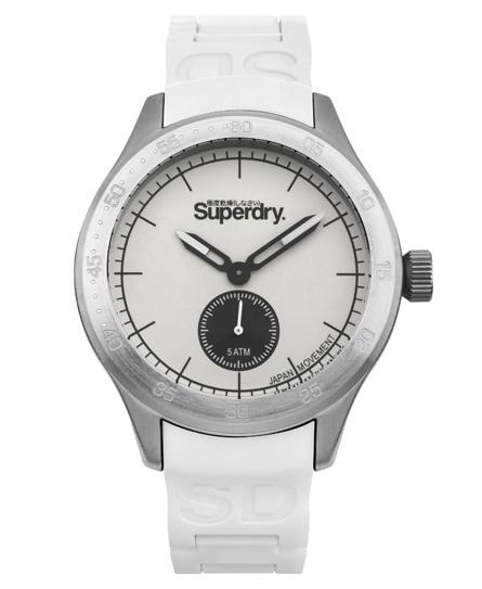Superdry Scuba Armbanduhr mit zweitem kleinem Uhrzeiger
