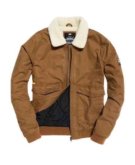 Superdry Rookie Winter Aviator Bomber Jacket