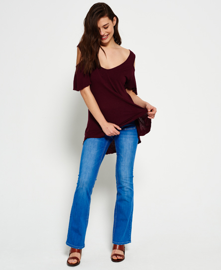 Superdry Boho Off Shoulder Top
