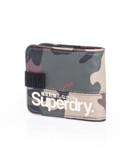 Superdry Tarp Ripstop Wallet Green