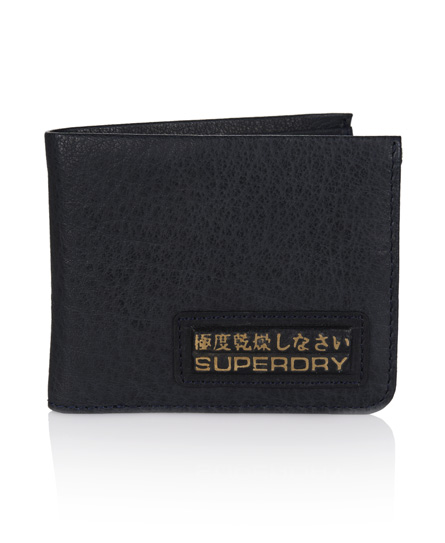 Superdry Super Bi-fold Wallet Brown