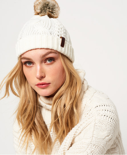 North Cable Bobble Hat