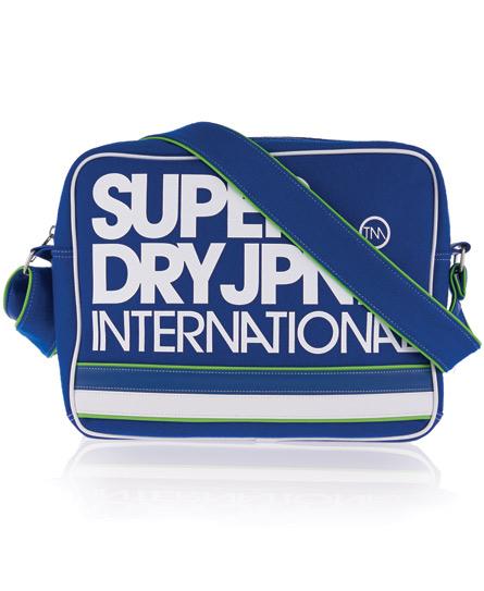 Superdry International Alumni Bag Blue