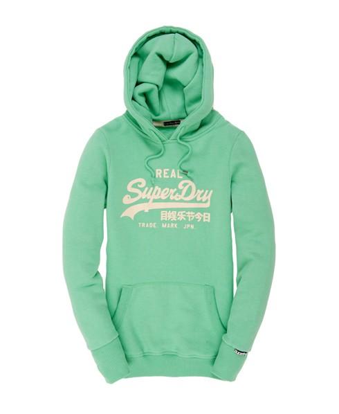 Superdry Vintage Entry Hood Green