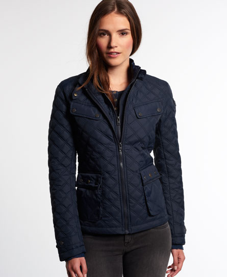 Superdry Apex Quilted Jacket Womens Jackets Coats