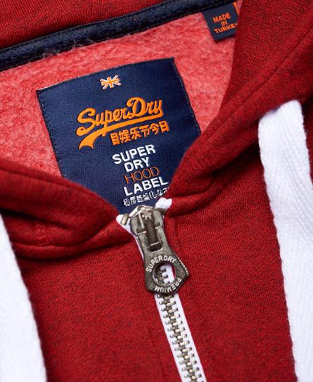 Superdry Superdry Premium Goods huvtröja med dragkedja