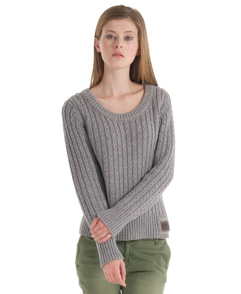 Superdry Orkney Sweater Light Grey
