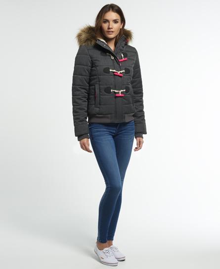 Superdry Marl Toggle Puffle Jacket