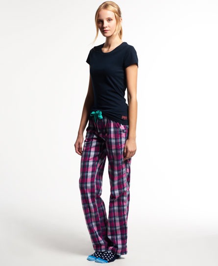 superdry pantalon d 39 int rieur lumberjack sous v tements pour femme. Black Bedroom Furniture Sets. Home Design Ideas