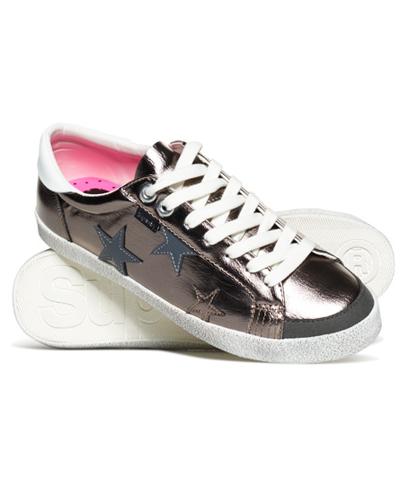 zinn Superdry Super Sleek Logo Low-Top Sneaker