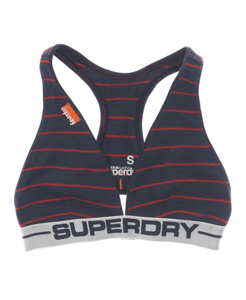 Superdry Women's Sports Bra Navy