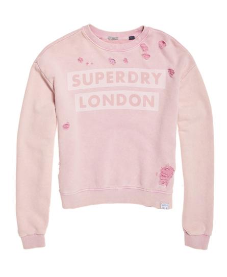 Superdry Distress Boxy Sweatshirt